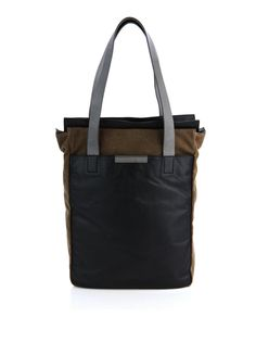 LEATHER Picture Bags | Marc by Marc Jacobs Cotton and leather tote bag | Men's bags