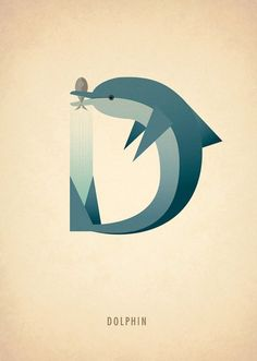 Ilustrador cria alfabeto feito com animais
