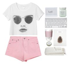 """""""<3"""" by mrstilinski ❤ liked on Polyvore featuring Monki, Laura Mercier, Crate and Barrel, CB2 and ROOM COPENHAGEN"""