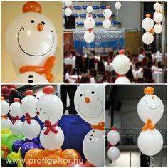 Hópofik és csomagok / Snowmans and gifts