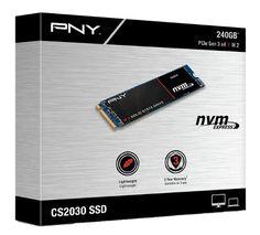 PNY Announces CS2030 PCIe NVMe M.2 SSD Series - http://www.thessdreview.com/daily-news/pny-announces-cs2030-pcie-nvme-m-2-ssd-series/
