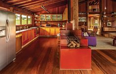 Cozinha + fogão a lenha de alvenaria