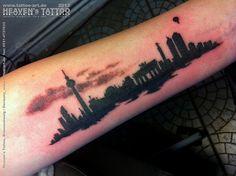 Berlin Skyline Tattoo | Flickr