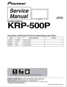 pioneer pl z81 pl z91 service manual pioneer service manuals rh pinterest com Craftsman Garage Door Opener Manual Ford Workshop Manuals
