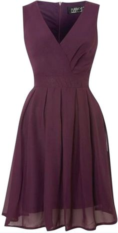 haute couture dress couture couture dresses couture kleider couture rose couture rules Pussycat - Romantic Chiffon V neck Wrap Dress, Purple Women's Dresses, Pretty Dresses, Beautiful Dresses, Short Dresses, Formal Dresses, Casual Dresses, Fashion Dresses, Chiffon Dresses, Mini Dresses