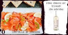 Abbinamento fiano salento San Marzano e salmone, wine pairing