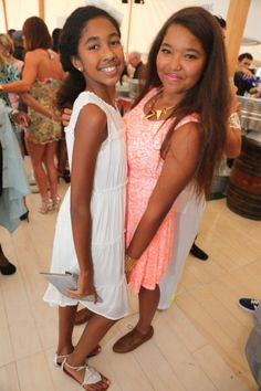 Ming Lee and Aoki Lee daughters of moguls Kimora Lee Simmons and ex-husband Russell Simmons.