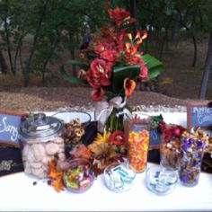 Fall desserts and sangria!!!