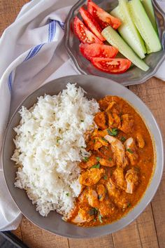 Indian Chicken Curry is creamy and savory, made with chicken breast in a seasoned yogurt and tomato sauce, ready in 30 minutes! Indian Chicken Recipes, Chicken Breast Recipes Healthy, Baked Chicken Recipes, Indian Food Recipes, Healthy Recipes, Healthy Meals, Easy Meals, Healthy Eating, Making Chicken Curry
