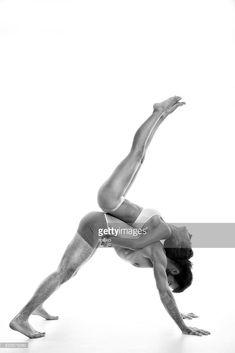 Stock Photo : Couple performing acro-yoga exercise in studio Acro, Yoga Fitness, Exercise, Stock Photos, Studio, Couple Photos, Couples, Photography, Image