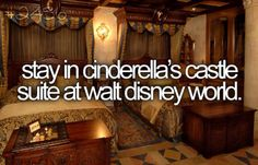 Stay in Cinderella's Castle Suite at Walt Disney World ♡ This would be a dream come true!