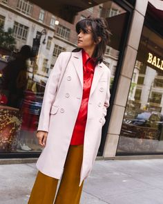 Find out more about Bally on Madison with Laila Gohar Madison Avenue, Designer Shoes, Coat, Table, Outfits, Shopping, Collection, Women, Fashion