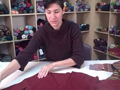 How to Knit a Sweater - This is the class series how to successfully knit perfectly fitting sweaters.