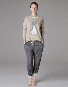 rabbit sweater. I could make one of these toooo