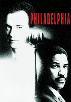 Philadelphia - Philadelphia attorney Andrew Beckett launches a wrongful termination suit against his law firm when they fire him because he's gay and HIV-positive. Stars Tom Hanks, Denzel Washington and Antonio Banderas.