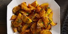 Spice-Roasted Butternut Squash with Cider Vinaigrettegoodhousemag