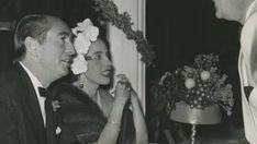 Alicia Villate y Muñoz, V duquesa de Tarancón y madre de Cristina Parra junto a Don Carlos de Urquijo