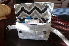 Hip Bag, the Anti-Fanny Pack - Tutorial and free pattern, from Warehouse Fabrics Inc.