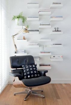 IKEA Lack shelf is a cool basic shelf, and you can use it wherever and however you want. IKEA Lack shelves can become nice corner shelves, floating . Ikea Lack Shelves, Lack Shelf, Floating Shelves Diy, Floating Wall, Small Shelves, Small Living Room Design, Small Living Rooms, Living Room Designs, Living Room Decor