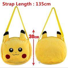 Pokemon Go Pikachu Yellow Plush Wallet Purse Tote Bag Nintendo Game Freak