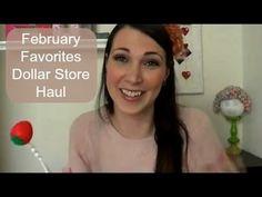 ▶ February Favorites Dollar Store Haul - YouTube
