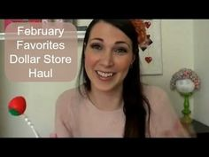 ▶ February Favorites Dollar Store Haul - YouTube