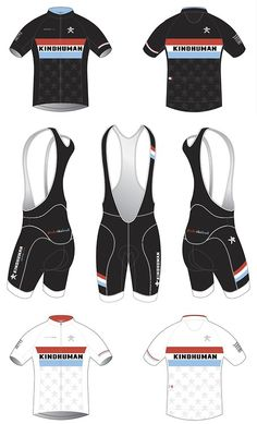 I've already explained my little stoke on the @Kindhumansports. When their kit dropped it was icing on the kit cake. Cool Home and away jersey selection  Simple black bibs with nice pick ups in the leg bands and coordinated stripes for the matchey-matchey vibe. Plus, a cool sub graphic on the front back. The inu logo on the chest and back? Reflective  Details son, as we've learned it's all about the details.