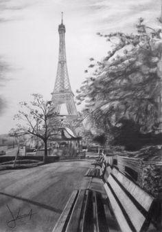 Torre Eiffel desenho