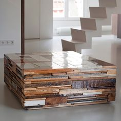 reclaimed wood, coffee table