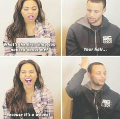 funny gif funny girls funny h. Stephen Curry Family, The Curry Family, Funny Basketball Memes, Girls Basketball, Volleyball, Steph Curry Memes, Curry Warriors, Ayesha Curry, Thing 1