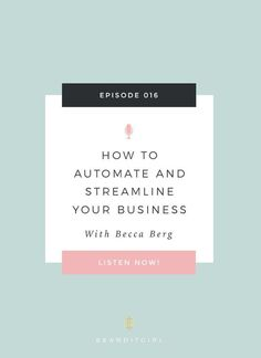 Looking for a way to streamline and automate your client experience? Let's talk about how templates can help you, and how Dubsado can help. Also inside: Dubsado Discount Code. Click through to listen to the Brand It Girl Podcast and to get the Dubsado Dis Business Advice, Business Planning, Online Business, Business Coaching, Etsy Business, Business Organization, Business Inspiration, Brand It, Virtual Assistant