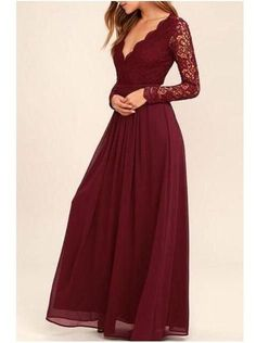 Bridesmaid Dresses With Sleeves, Prom Dresses With Sleeves, Cheap Prom Dresses, Bridesmaid Gowns, Maxi Dresses, Burgundy Bridesmaid Dresses Long, Long Dresses, Wedding Dresses, Prom Dresses