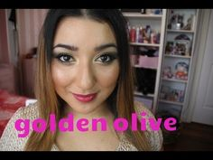 GOLDEN OLIVE MAKEUP
