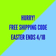 Free shipping on ANYthing on http://ift.tt/1Viyd92 thru April 18!! http://ift.tt/2nUL4YY - http://ift.tt/1HQJd81