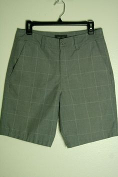 NWT Hurley Men/'s Collective Skull Chino Shorts Size 32 34 Light Iron ore