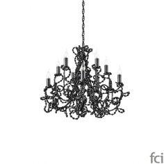 Coco COCOCC60BL #ChandelierLamp by #BrandVanEgmond. Showroom open 7 days a week.  #fcilondon #furniture_showroom_london #furniture_stores_london #Modern_ChandelierLamp #BrandVanEgmond_furniture #BrandVanEgmond_lighting #Fashionista