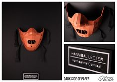Dark Side of Paper Hannibal Lecter : Hannibal the cannibal  Monsieur Oscar www.monsieuroscar.com