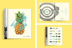 Tropically Yours on Behance