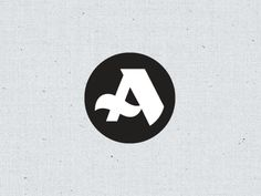 Designspiration — Dribbble - monogram by Andy O'Dore