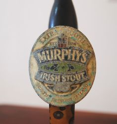 VINTAGE BEER TAP HANDLE MURPHYS IRISH STOUT