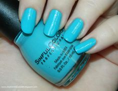 Sinful Colors Nail Polish Sugar Rush Collection in the shade Sweet Nothing