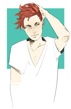 Clary genderbent (Clay/Clayton?) by Cassandrajp ... the mortal instruments, clarissa 'clary' THIS SLAYS MY WHOLE EXISTENCE