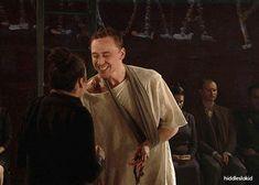 Tom Hiddleston as Caius Martius Coriolanus