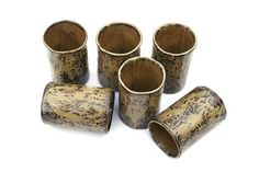 Leather and Lace Slouch Mugs or Cups by FarmhouseMud on Etsy