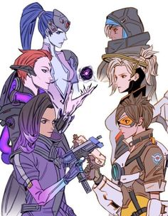 """It should be called """"Mirror"""" or something like that. it just fits, Overwatch, Overwatch It should be called """"Mirror"""" or something like that. it just fits Source by It should be called """"Mirror"""" or something like that. it just fits. Overwatch Comic, Paladins Overwatch, Overwatch Fan Art, Videogames, Overwatch Drawings, Fanart, Widowmaker, Art Memes, Bioshock"""