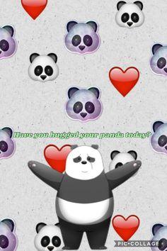 Panda Wallpaper Credits Esther Joice Tan Aka Me