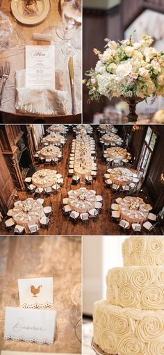 I like the seating arangement - Seating arrangement with half rounds on the ends of banquet style table