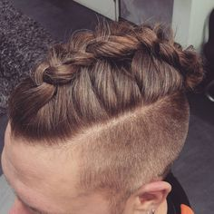 cool 30 New Ideas for Men's Fishtail Braid - The Superior Style