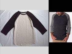 MEN'S MARINE LAYER BARNEYS  NY ~BASEBALL RAGLAN~ JERSEY SKATER TEE T-SHIRT TOP M #MARINELAYER #RaglanTeeTshirt