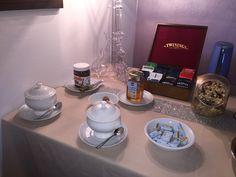 buffet breakfast at Antico Granaione B&B